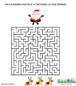 Giochi natalizi da stampare